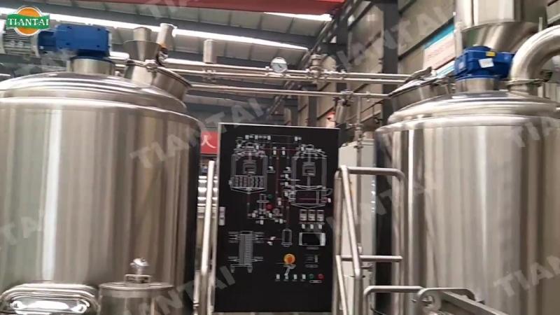 800л пивоварня и минипивзавод для канадского клиента