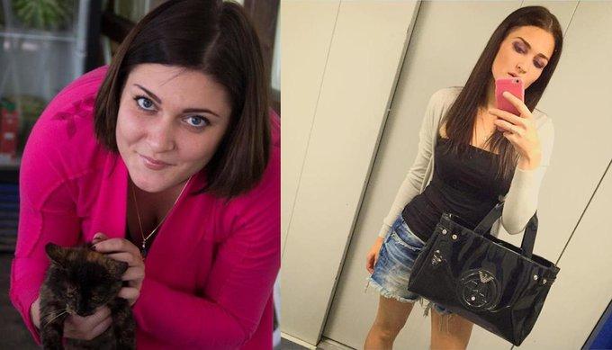 Накануне, 31 декабря, я пообещала себе похудеть. Худею.