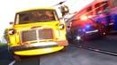 Мультики про машинки Полицейская машина Купер преследует преступника. Герои нашего города 3D машинки