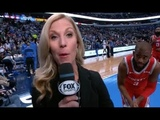 CP3 Tells Reporter To Get Off The Floor Before Game