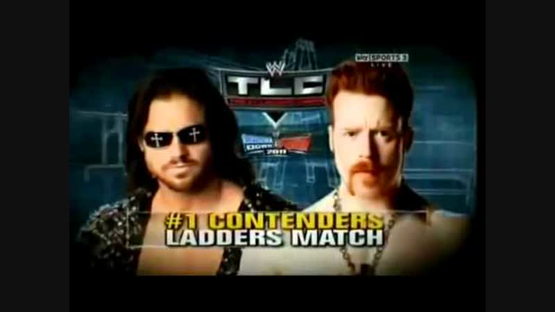 (WWE Mania) TLC 2010 John Morrison vs. Sheamus (Ladder match to determine the number one contender to the WWE Championship)