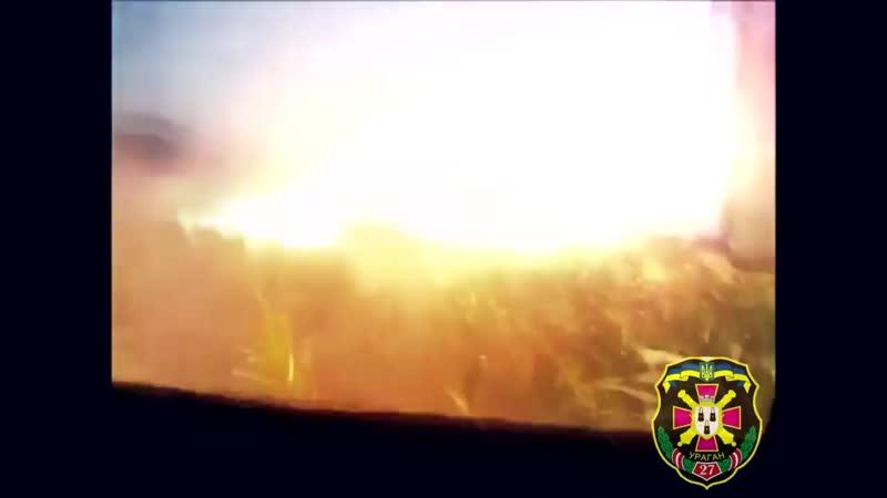 Ракетні війська ЗСУ у зоні АТО Missile troops of Ukraine at war
