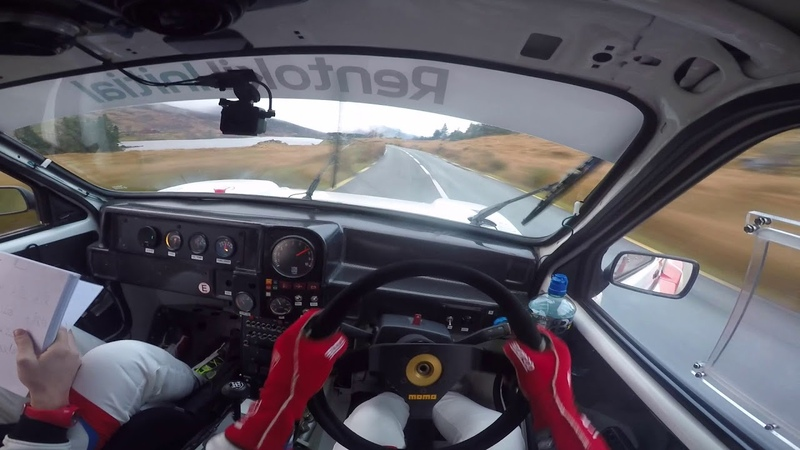 Craig Breen **Helmet Cam** - Killarney Historic Rally - MG Metro 6R4