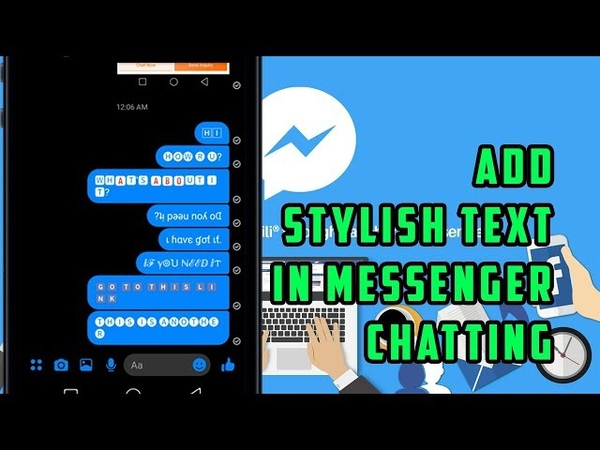 How to change font style in messenger-2019 New Awesome Tricks