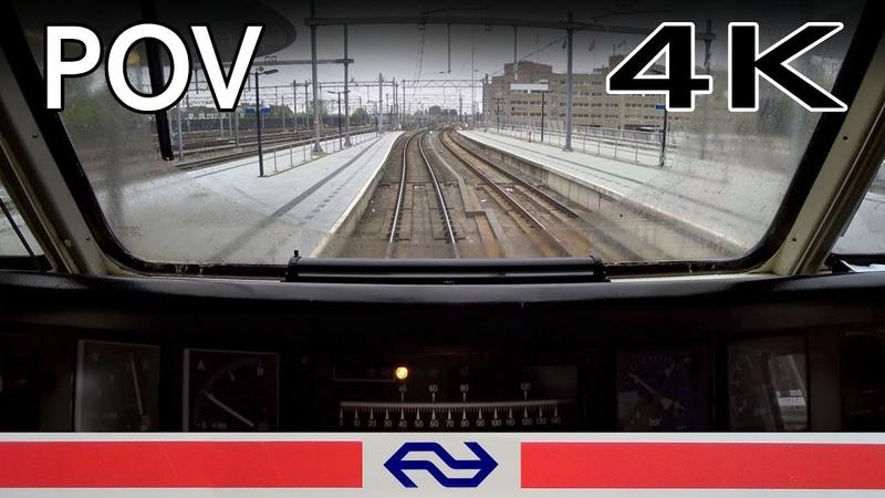 TRAIN DRIVER'S POV Utrecht - Baarn SGM 17mei 2019