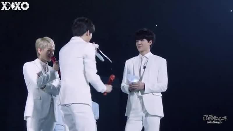 Концерт EXO новая хореография тендер лав