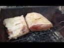 жарка мяса на агрегате (хаотичная сьемка плюс несвязные диалоги(-занят был )