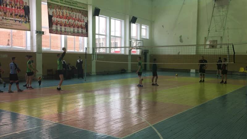 Разминка Созвездие - Милый дом (1-3) Чемпионат УР по волейболу 2019 Первая лига