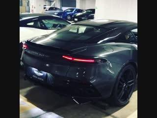 Звучание нового Aston Martin DBS Superleggera! Автомобиль, машина, тачка, суперкар, авто, астонмартин, спорткар