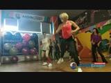 Художественная гимнастика с Кариной, танцы с Ольгой и Алиной, лотерея. День открытых дверей.