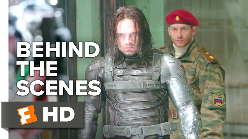 Captain America: Civil War Behind the Scenes - Which Side? (2016) - Sebastian Stan Movie