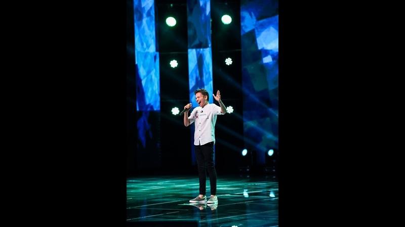 Daniel Balavoine - S.O.S d'un terrien en detresse. Vezi cum cântă Eduard Ungureanu, la X Factor