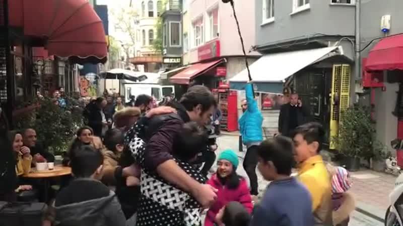Yusuf Çim /на съемках фильма СМПОЛ/ Юсуф Чим