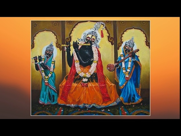Тота Гопинатх и Гададхара Пандит Стихи читает автор Е С Ананда Вардхана Свами