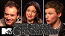 Fantastic Beasts 2 Cast Reveal Alternate Ending Deleted Prof. McGonagall Scenes | MTV Movies