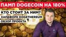 ПАМП DOGECOIN НА 180% Кто стоит за ним Что с форком Dogethereum Обзор проекта