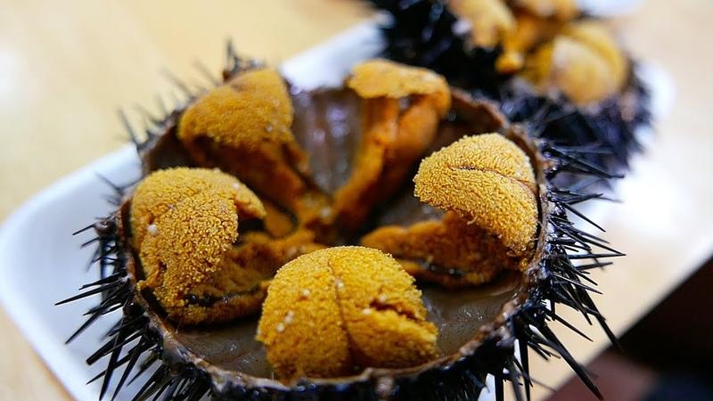 日本路邊小吃 - 生海膽 日本海鮮