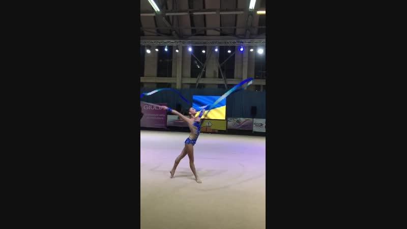 Александра Яремчук Лента - Чемпионат Украины Днепр 2018