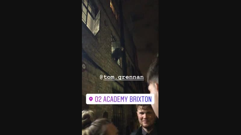 Story katiedwyerr Tom Grennan come to say Hi