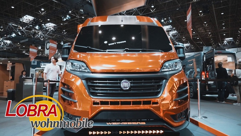 WEINSBERG CUVolution SHOWCAR 2019 FIAT DUCATO TUNING POWER