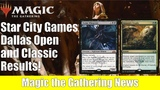 MTG SCG Dallas Open and Classic Tournament Results Week 3 of Guilds of Ravnica Competitive Play
