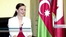 Сотрудница посольства Швейцарии активно изучает азербайджанский язык
