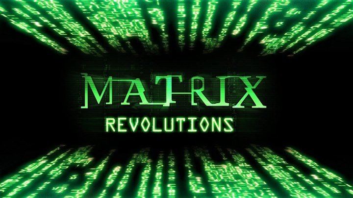Матрица Революция 2003 боевик фантастика HD звук ©