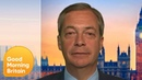 Nigel Farage Responds to Ann Widdecombe's Comment on Homosexuality   Good Morning Britain