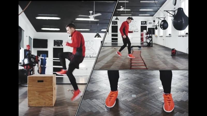 11 Praca nóg w boksie i innych sztukach walki | Poruszanie się po ringu | mma, muay thai