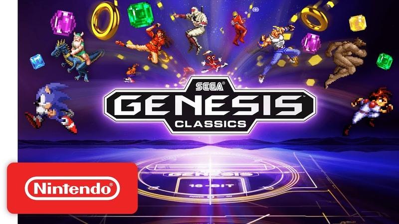 SEGA Mega Drive Genesis Classics Announcement Trailer Nintendo Switch