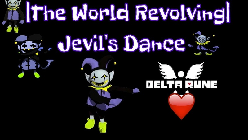 DELTARUNE - THE WORLD REVOLVING (Jevil's Theme) [COVER AKTASHMAK]