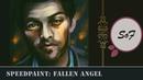 Fallen Angel Castiel Supernatural Speedpaint (Paint Tool SAI)