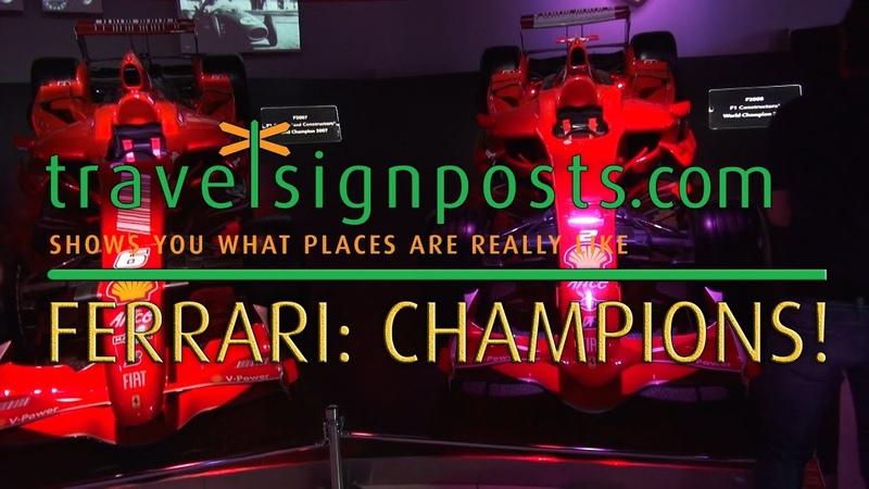 Ferrari Museum, Maranello: Champions!