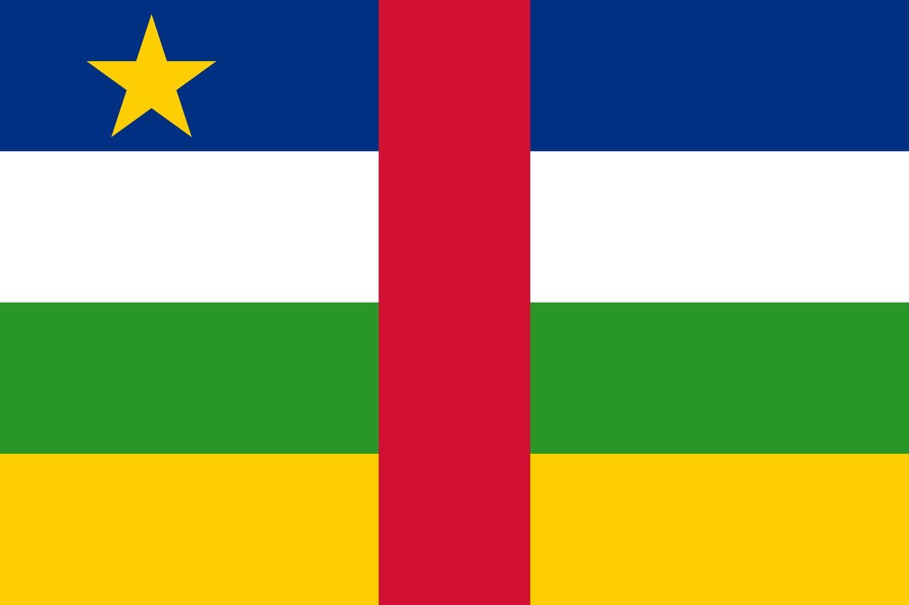 Флаг Центрально-Африканская Республика