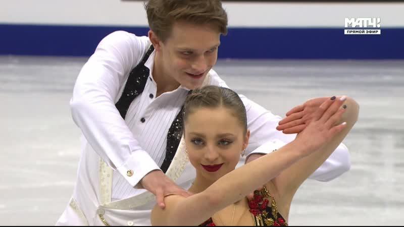 European Championships 2019. Pairs - SP. Aleksandra BOIKOVA / Dmitrii KOZLOVSKII