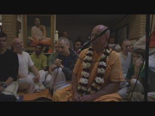 2019_01_16 короткая лекция перед киртаном BB Govinda Swami Moscow
