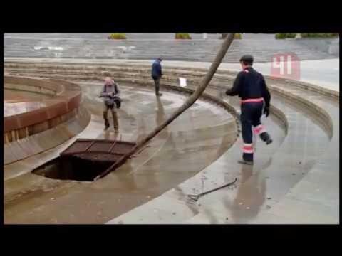 Фонтаны законсервировали / Новости