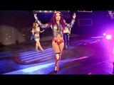 Sasha Banks, Bayley &amp Mickie James Entrance - RAW Jan 15. 2018 (HD)