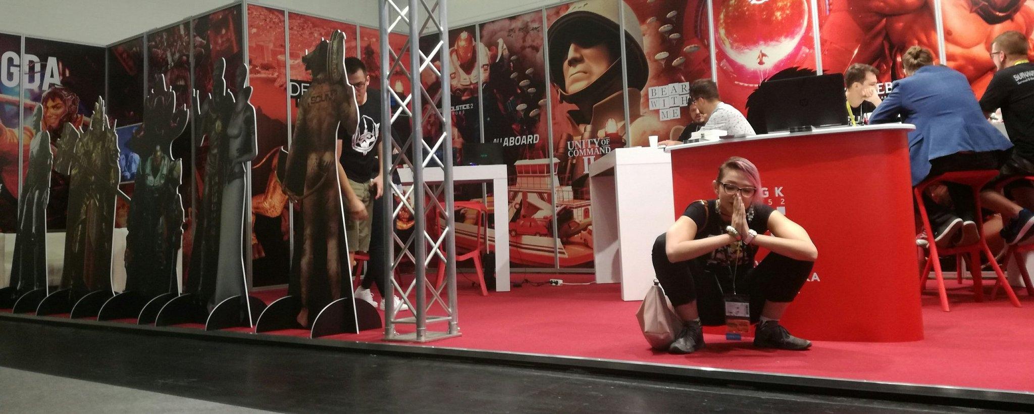GAMEPIRES. Ivona на выставке GAMESCOM.