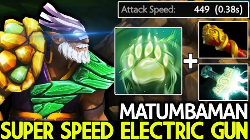 Matumbaman Lone Druid Super Speed Electric Gun Pro Gameplay 7 20 Dota 2