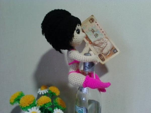 Девушка-подарок, ч.1. Gift girl, р.1. Amigurumi. Crochet. Амигуруми. Игрушки крючком.