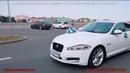 Аренда автомобиля Jaguar XF white restyle на свадьбу