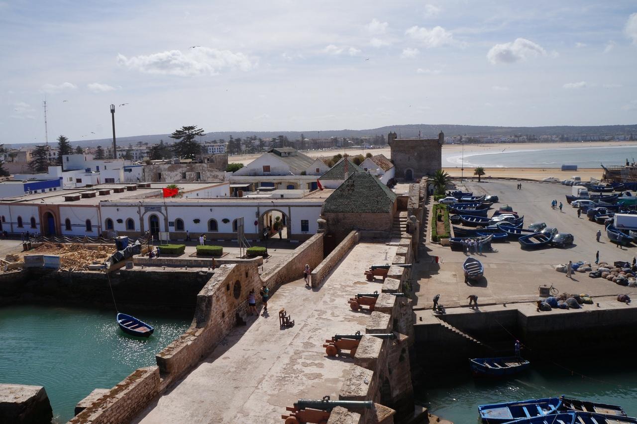 Сказочный форт Эс-Сувейры в Марокко укрепления, здесь, замка, Марокко, несколько, замок, через, город, находятся, ЭсСувейру, города, также, ничего, входа, небольшой, использовался, башни, возможно, только, стороны