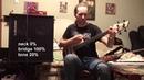 Lobanov Singlecut Fretless Bass 2018 Chernyshev F Pickups Alexey Zavolokin