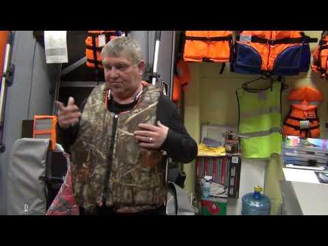 Спасательные жилеты для рыбаков и охотников SPASS