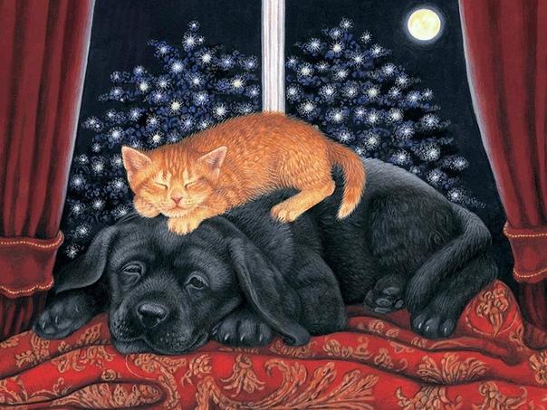 чья луна упала в речку /посвящается артемке / ночь. в квартире уже потушен свет, хозяева спят, и поэтому можно подумать, что уснул весь дом. убедившись, что вокруг тихо, из своего кошачьего