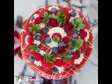 Креп- торт Красный бархат
