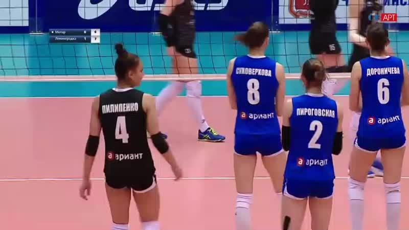 Чемпионат России 201819. 16-й тур. Динамо Метар - Ленинградка.