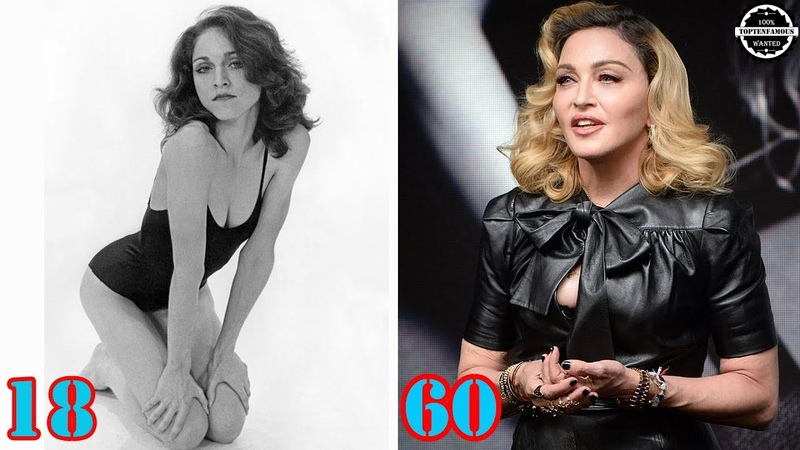 Madonna Transformation | From 0 to 60 Years Old