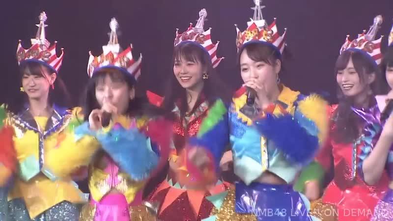 NMB48 Koko ni datte Tenshi wa Iru Yamamoto Sayaka Graduation Special Performance 2018 11 03